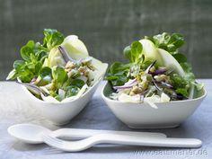 Feldsalat mit Emmentaler - smarter - Kalorien: 474 Kcal | Zeit: 40 min.