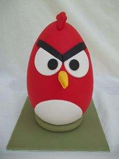 Angry bird easter egg - Cake by Mina's cakes and cookies