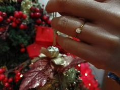 18Κ gold Ring with Brilliant - 18K χρυσό Δαχτυλίδι Μονόπετρο Μπριγιάν