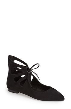 Jeffrey+Campbell+'Gazebo'+Pointy+Toe+Flat+(Women)+available+at+#Nordstrom
