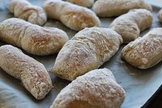No Salt Recipes, Baking Recipes, Bread Recipes, Finnish Recipes, Savory Pastry, Ciabatta, Bread Baking, I Love Food, Food And Drink
