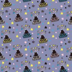 BEAR DANCE Pattern Images, Textiles, Bear, Dance, Dancing, Bears, Fabrics, Textile Art