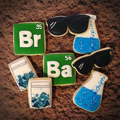My breaking bad cookies
