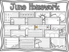Absorb Summer Content: Summer Homework for Kindergarten Graduates
