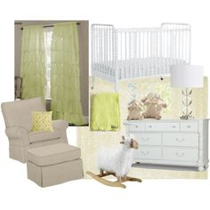 Gender Neutral Nursery by luvnstyle on Polyvore