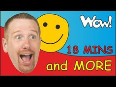 How Are You Kids? + MORE   English funny Stories for Children with Steve...