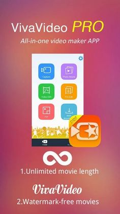 Android Apps & Games: VivaVideo Pro: Video Editor [App] [Android]