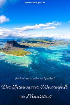 Der Unterwasser-Wasserfall vor Mauritius gehört zu den spektakulärsten Naturphänomenen unserer Erde. In meinem Reisemagazin erkläre ich, wie es zu diesem Phänomen kommt und wie ihr den Unterwasser-Wasserfall am besten bestaunen könnt.
