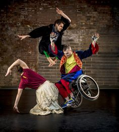 Candoco Dance Company (Square Format Image)