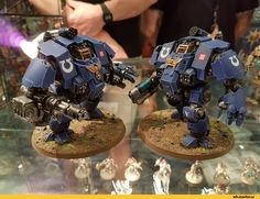 Some Real Good Pics of the Redemptor Dreadnought - Faeit Warhammer News and Rumors Figurine Warhammer, Warhammer 40k Miniatures, Warhammer 40000, Warhammer Dark Angels, Ultramarines, Deathwatch, Tabletop Board Games, Scale Art, Lego Mecha