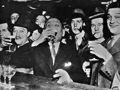 In the 1920s the prohibition backfired and people drank even more alcohol and the cocktail became more and more popular