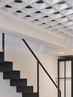 Andy Martin Architecture gutted this five-storey Georgian townhouse, adding glass pavement lights to the ground floor to allow natural light to enter Georgian Townhouse, London Townhouse, Dorset Street, Pavement, E Design, Ground Floor, Interior Architecture, Stairs, Ceiling Lights