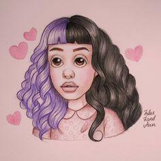 Melanie Martinez Photography, Melanie Martinez Drawings, Anna May, Ariana Grande, Angel, Fan Art, Cry Baby, Instagram Posts, Artist