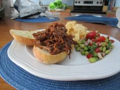Pulled Pork Sassified Sandwich: This simple recipe will easily feed your family and friends, leaving them asking for a to-go bag!