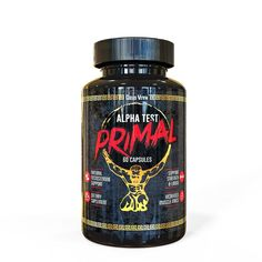 Alpha Test Primal Testosterone Booster 60 Capsules #alphaForce
