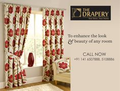 Pineville Ready Made Lined Curtains Pleated Curtains, Colorful Curtains, Curtains With Blinds, Drapes Curtains, Drapery, Buy Curtains Online, Remodeling Costs, Red Rooms, Curtain Designs