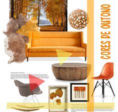 Sala cores de Outono