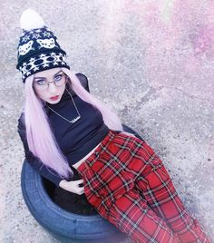 Pastel cutie @_queenofnowhere_ in our Witchy Woman beanie 😻💖🔮 just $16.49