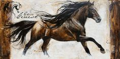 Elise Genest - Buscar con Google Horse Pictures, Art Pictures, Photos, All The Pretty Horses, Beautiful Horses, Native American Horses, Oil Pastel Colours, Yarn Painting, Watercolor Horse