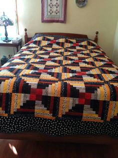 New Baby Crafts, Log Cabin Quilts, Comforters, New Baby Products, Projects To Try, Quilting, Blanket, Bed, Furniture