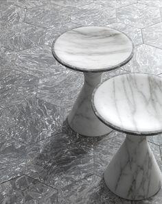 marble bath furnishings by Enzo Berti for Kreoo