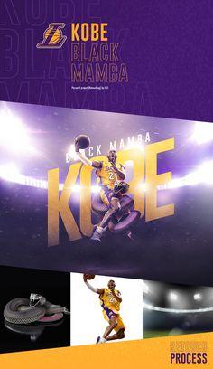 Kobe, Black mamba (Retouching) by GES Bryant Basketball, Basketball Stuff, Kobe Bryant Quotes, Kobe Mamba, Soccer Poster, Magic Johnson, Best Iphone Wallpapers, Black Mamba, Los Angeles Lakers