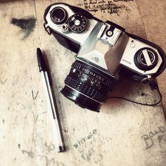 Pentax Asahi k1000 35mm vintage classic camera:)