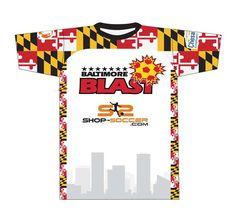 Baltimore Blast Red Home Jersey