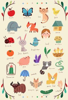 Neiko Ng Illustrated alphabet