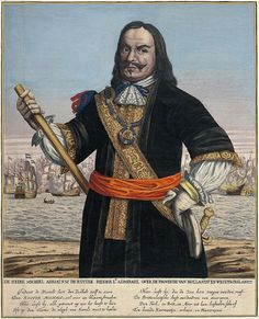Michiel Adriaenszoon de Ruyter is the most famous, and one of the most   skilled, admirals in Dutch history, and is particularly renowned for   his  role in the Anglo-Dutch Wars of the 17th century.