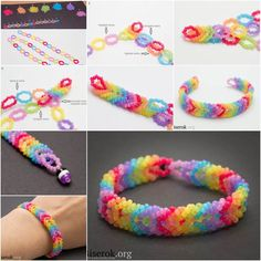 Bracelet is a nice way to highlight your fashion style. If you like beading, a beaded bracelet would be a nice idea for Summer fashion projects. Here is a nice DIY tutorial on how to make a rainbow color woven beaded bracelet. It looks so pretty, especially with its bright …