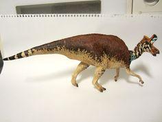 copper's paints Lambeosaurus