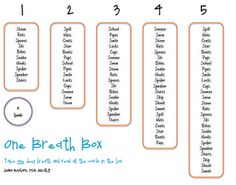 One Breath Box - - Pinned by @PediaStaff – Please visit http://ht.ly/63sNt for hundreds of pediatric therapy pins