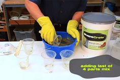 How to Make a Clay-like Mix   ShapeCrete