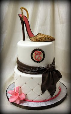 Sandra's Cakes: adult birthday Shoes were my thing . until recently, so sadly perhaps not! Pretty Cakes, Beautiful Cakes, Amazing Cakes, Cupcakes, Cupcake Cakes, Shoe Cakes, Adult Birthday Party, Birthday Cakes, Birthday Ideas