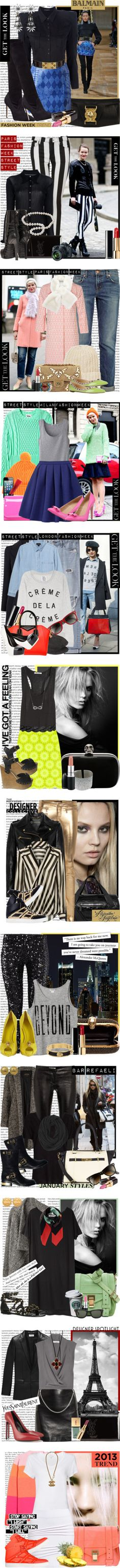 """""""MY TOP SETS - 2013"""" by karineminzonwilson ❤ liked on Polyvore"""