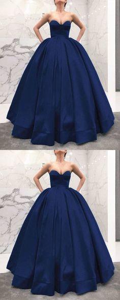 a53cd08d2c385 Long prom dresses,ball gown evening dress,navy blue evening dress, sexy  evening gowns