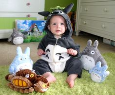 My Neighbor Totoro Baby Costume Made to Order by LOETZ on Etsy, $90.00