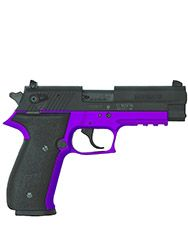 It doesn't have to be pink as long as it's pretty!  Sig Mosquito 22LR Purple Handgun