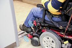 WheelSense will help wheelchair users navigate. The device will beep when they are close to running into something.  -Courage Kenny Rehabilitation Institute