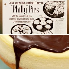 Boston Cream Cheesecake Click to see how this classic 1950s cheesecake got a makeover!