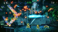 Resogun: Heroes, el primer DLC de Resogun. #PS4 #Videojuegos #Gamer