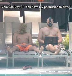 Arkham Inmates Taking Some Free Time