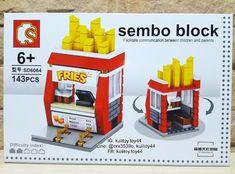 เลโกราน sembo block : Fries Food (รานเฟรนฟราย) มตวตอ 143 ชน size XL สดนารก สดเท อด อด กลองละ 100 บาท สนใจทกมาคยกนนะคะ line id : @erx3539o หรอ line id : kulitoy44// ซอ 4 กลองขนไปสงฟรลทบ. #ตวตอโลโก #ตวตอจว #ตวตอนาโนบลอค #ตวตอรานคา #เลโกจว #เลโกราคาถก #เลโกรานคา #โลโกนารก #toys #semboblock #shopping #toythailand #toy_thailand #legostagram #legos #legoshop #nanoblocks #miniblocks #toythailand #diamonblock #legoland