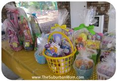 Easter baskets for charity