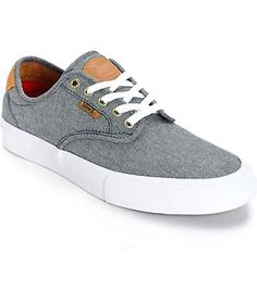 Vans Chima Pro Cord Chambray Skate Shoes (Mens)