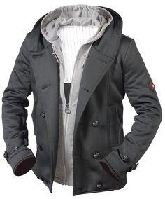 PS WELLENSTEYN USA men s SAN DIEGO winter Jacket coat black SAD202  299  msrp. Мужские Зимние КурткиДлинные ... f5e0805c36d