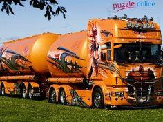 Artystyczne, Ciężarówka, Malowanie