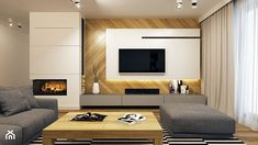 New Living Room With Tv Cabinet Interior Design Ideas Sofa Bed Living Room, New Living Room, Small Living Rooms, Interior Design Living Room, Living Room Furniture, Living Room Decor, Home Fireplace, Living Room With Fireplace, Contemporary Tv Units