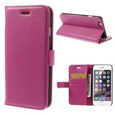 Köp Plånboksfodral Apple iPhone 6/6S rosa online: http://www.phonelife.se/planboksfodral-apple-iphone-6-6s-rosa